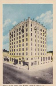 Royal Edward Hotel, Fort William, Ontario, Canada, 1910-1920s