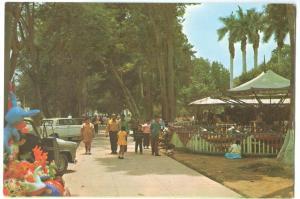 Peru, Lima, Plaza de Armas, Chosica, 1977 used Postcard