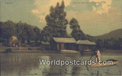 Lake & Boat House Nuwara Eliya Ceylon, Sri Lanka Unused
