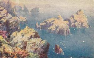Kynance Cove From The Cliffs, Cornwall, England, UK, 1900-1910s