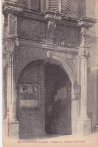 NEUFCHATEAU, Vosges, France; Porte de Hotel de Ville, 00-10s