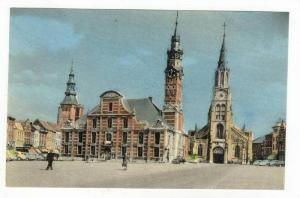 Grote Markt, St.Truiden (Limburg), Belgium, 1900-1910s