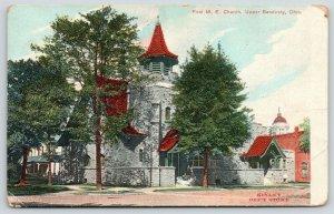 Upper Sandusky Ohio~First Methodist Episcopal ME Church~1908 Kinley Dept Store