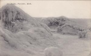 FORESTER, Michigan, PU-1916; Ice Banks