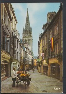 France Postcard - Caen (Calvados) - La Rue Froide, Rue Typique Du Vieux   RR3528