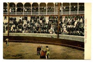 Mexico - Bullfighting. Challenge of the Cloak