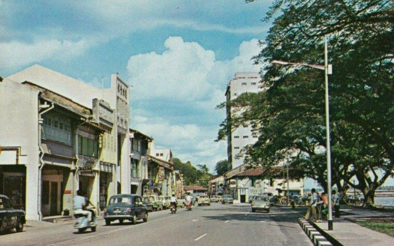 JOHORE BAHRU , Malaysia , 50-60s ; Street Scene