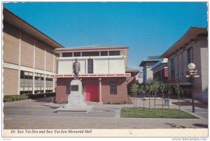 Dr. Sun Yat-Sen, Dr. Yat-Sen Memorial Hall, SACRAMENTO, California, 50-70´s