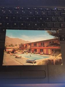 Vintage Postcard: Monte vista hotel & Apts, Palm Springs CA