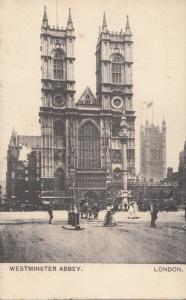 United Kingdom, London, WESTMINSTER ABBEY, 1906 used Postcard