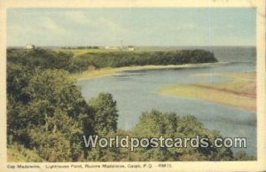 Cap Madeleine, Lighthouse Gaspe, PQ Canada Unused