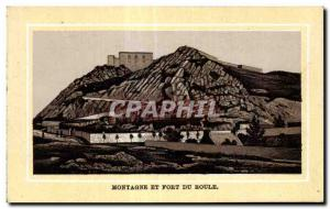 Old Postcard Cherbourg Mountain and Fort du Roule
