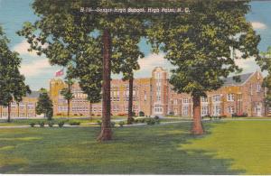 HIGH POINT , North Carolina, 30-40s ; Senior High School