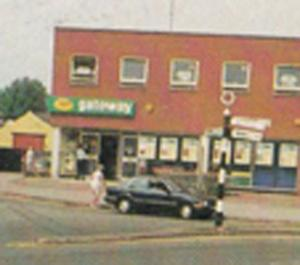 Keyworth Gateway Supermarket Nottingham Village Superstore Limited Postcard