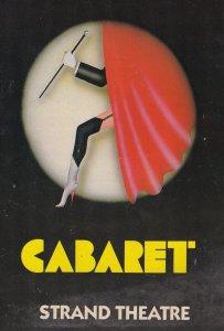 Cabaret Wayne Sleep Musical Strand Vintage London Theatre Programme