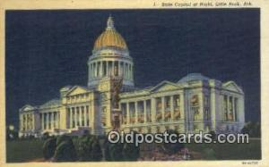 Little Rock, Arkansas, AR State Capital, Capitals Postcard Post Card USA  Lit...