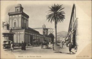 Bone Algeria La Mouveau Marche c1900 UDB Postcard