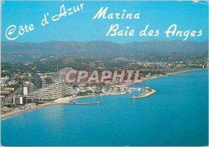 Postcard Modern French Riviera Marina Baie des Anges