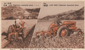 New CA & WD Allis-Chalmers Tractors , 1930-40s