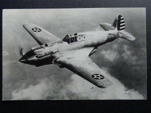 WW2 Aircraft CURTISS WRIGHT XP-40 TOMAHAWK c1939/1945 RP Postcard by Valentine