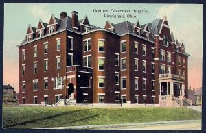 German Deaconess Hospital Cincinnati OH unused c1910's