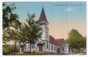 Farmington, Me, Baptist Church