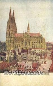 Germany, Deutschland Postcard Cologne Cathedral  Cologne Cathedral