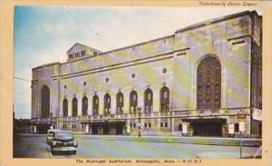 Minnesota Minneapolis The Municipal Auditorium Dexter Press