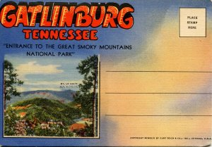 Folder -  Tennessee, Gatlinburg & Great Smoky Mts Nat'l Park    18 views + map