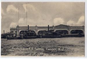 PA RR Ferries, Camden NJ