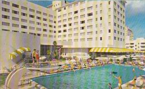 Florida Miami Beach The Casablance Hotel With Pool