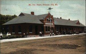Pleasant Hill MO MO PAC Depot RR Train Station c1910 Postcard
