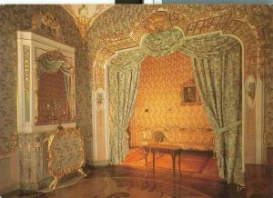 Russia, Lomonosov, The Chinese Palace, The Damask Bedroom