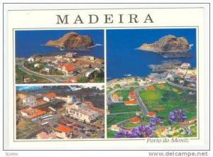 MADEIRA, 1970s 4-view, Porto do Moniz