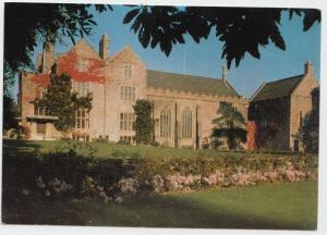 Exterior Great Hall and Gardens, Dartington Hall, Totnes, Devon, unused Postcard