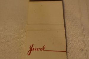Jewel Grocery Store Matchbook Cover, Diamond Match Co. New York