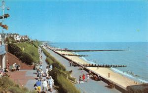 Essex Postcard, North Beach, Clacton On Sea, Sun, Sea, Sand, People, Holiday 13U