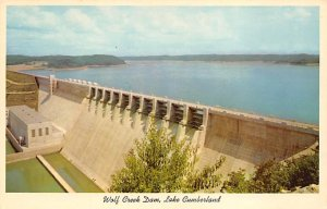 KY Postcard, Kentucky Post Card Wolf Creek Dam Unused