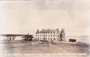 Old French Castle Old Fort Niagara New York Real Photo