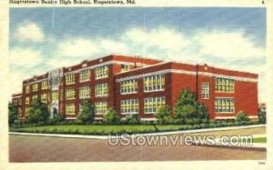 Hagerstown Senior High School Hagerstown MD Unused