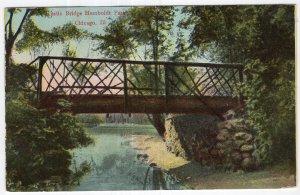 Chicago, Ill, Rustic Bridge Humboldt Park