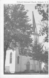 Postcard Mohawk Reform Church Mohawk New York