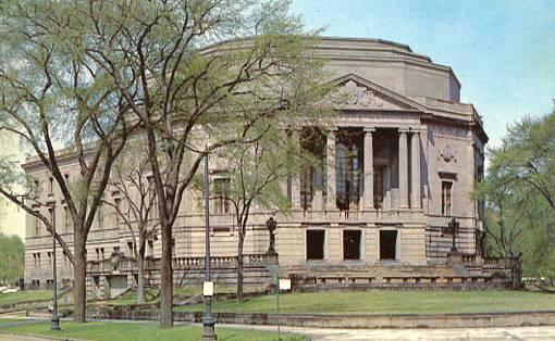 OH - Cleveland, Severance Hall, Home of the Cleveland Orchestra