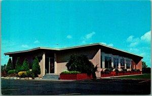 Ferndale, Washington Postcard Johnson's Fine Food Restaurant Hwy 99 Roadside