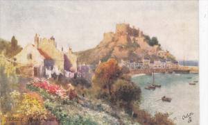 JERSEY, UK, 1900-1910´s; Mont Orgueil Castle