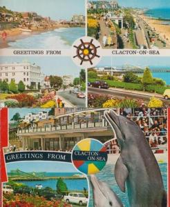 Jaywick Sands 1960 Postcard