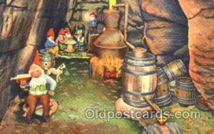Moonshine Still in Rock City Gardens, lookout Mountain, Gnomes, Elves, Fairy,...