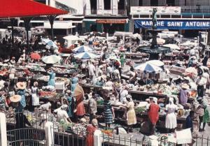 GUADELOUPE - Le Marche de Pointe-a-Pitre, 50-70s