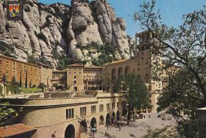 Postal 62106 : Montserrat. Fachada del Santuario
