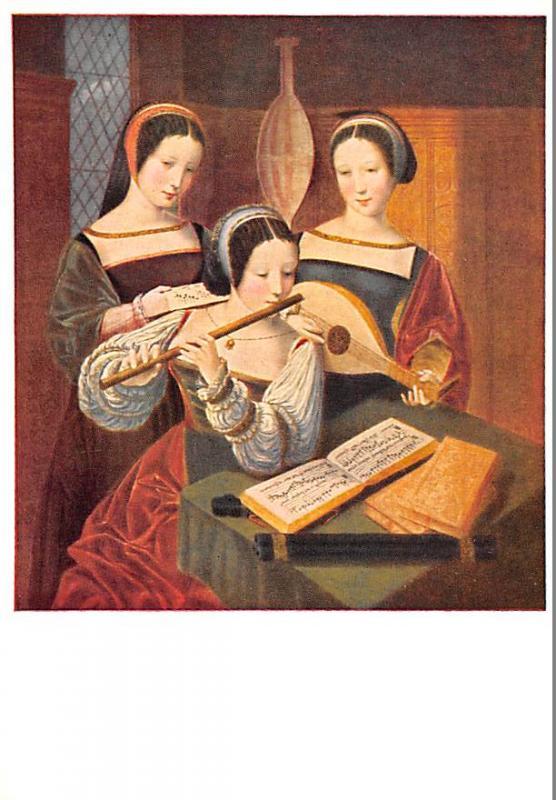 Meister Der Weibl - Three Ladies playing music